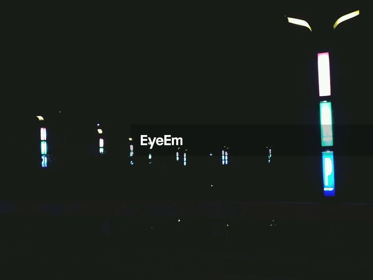 illuminated, dark, night, no people, architecture, indoors, built structure