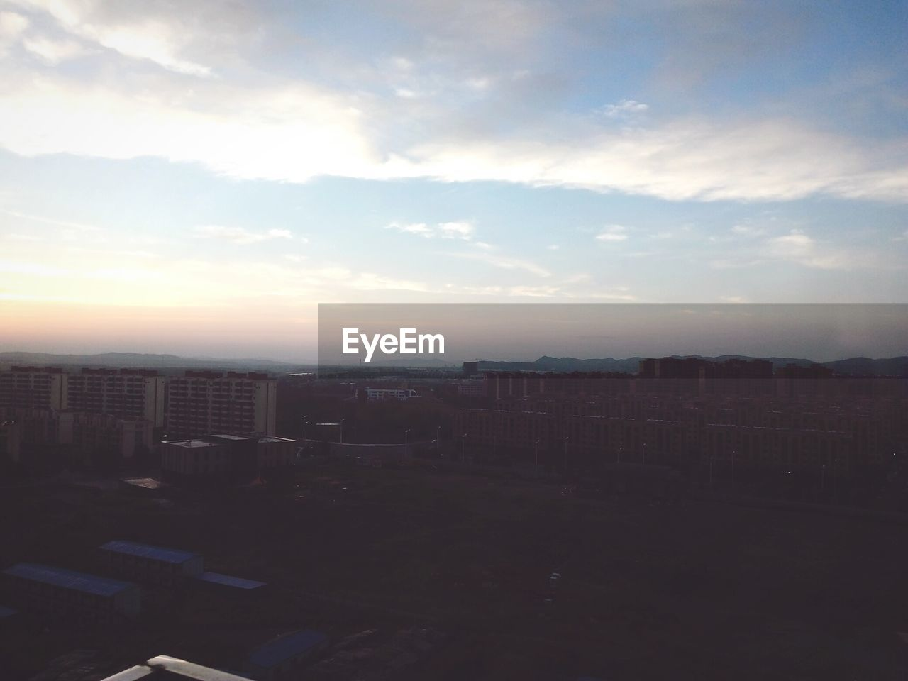 sky, cityscape, no people, architecture, city, sunset, building exterior, outdoors, day