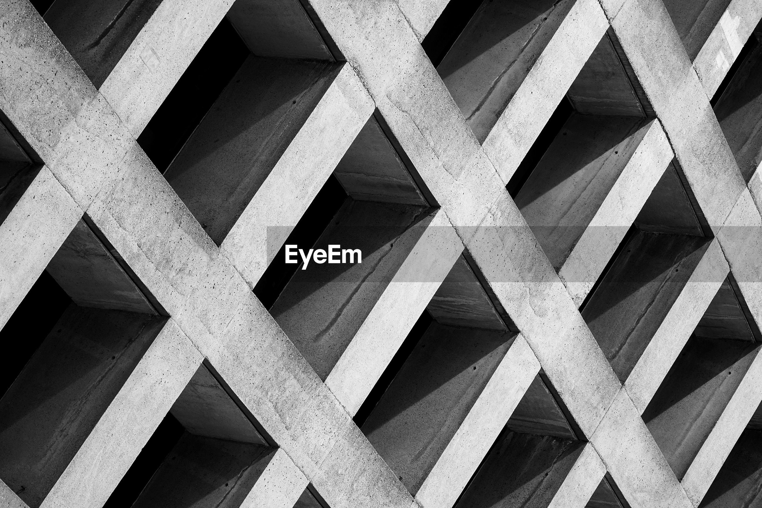Full frame shot of patterned built structure