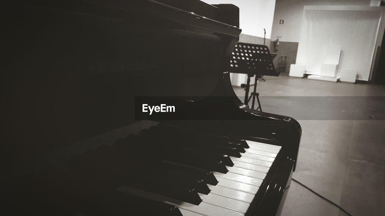 Grand Piano At Hall
