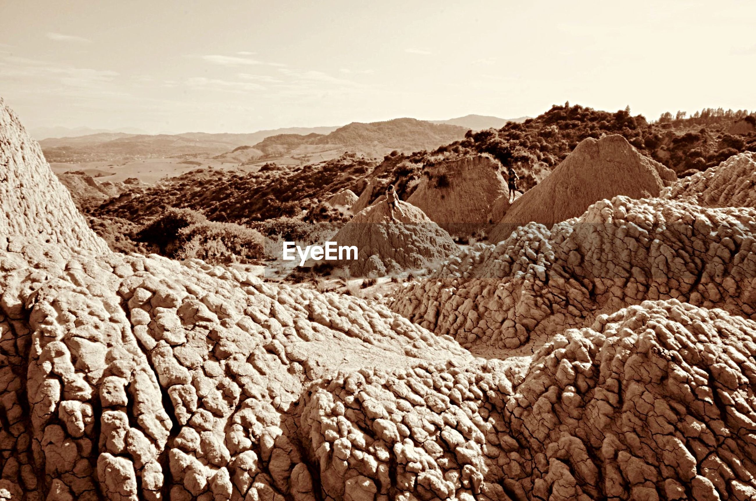 VIEW OF DESERT AGAINST SKY