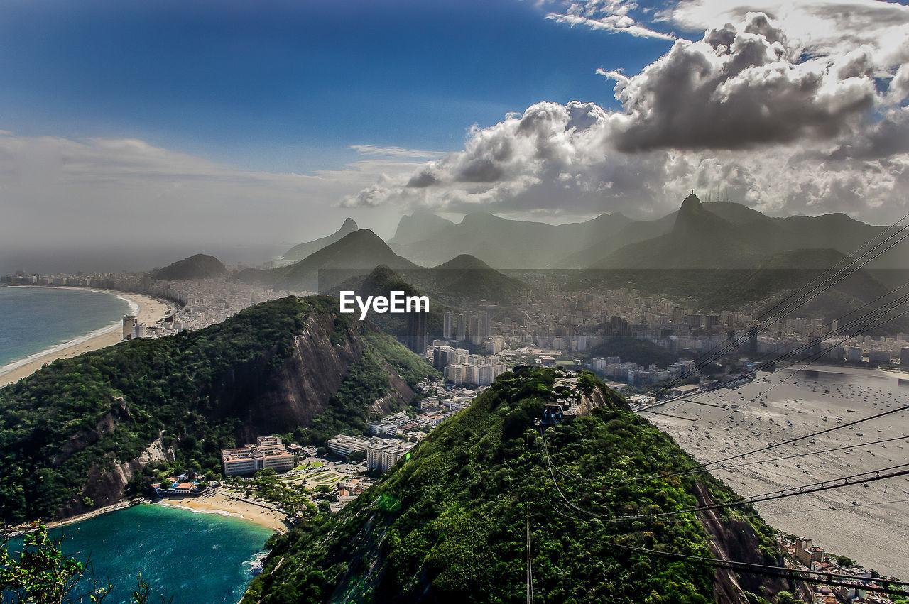 Cityscape At Rio De Janeiro Against Sky