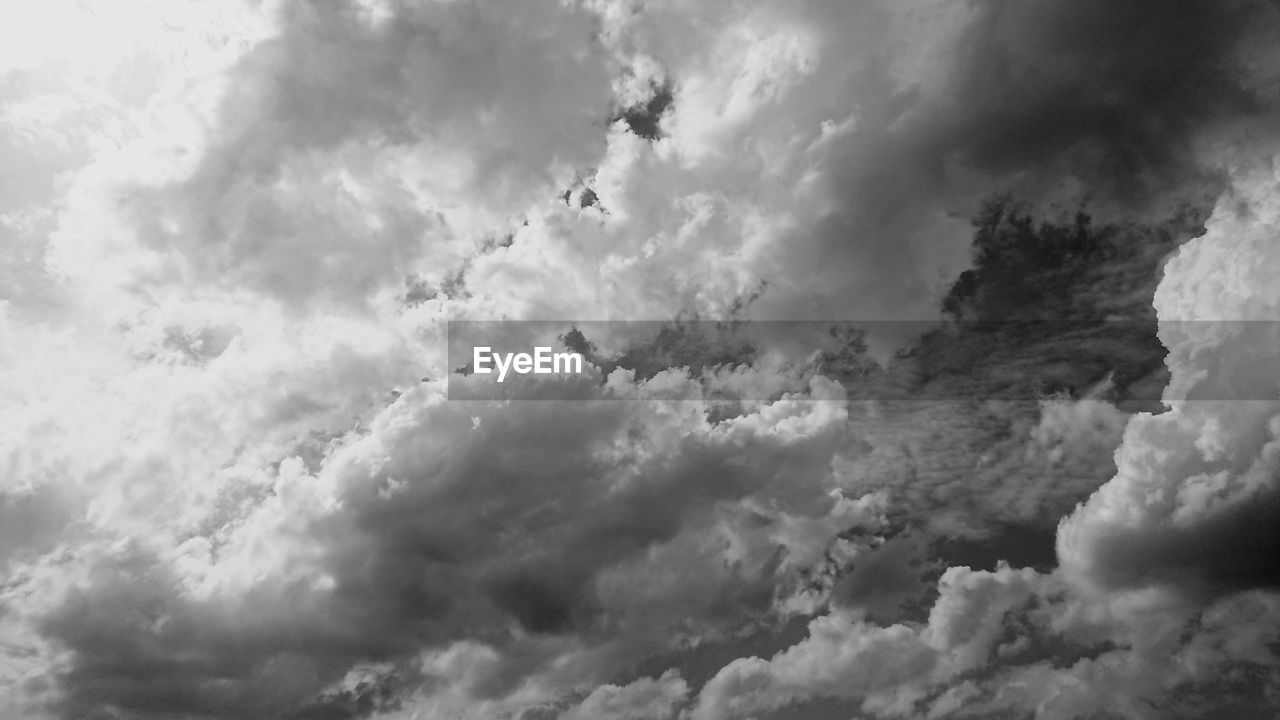 PANORAMIC VIEW OF CLOUDSCAPE