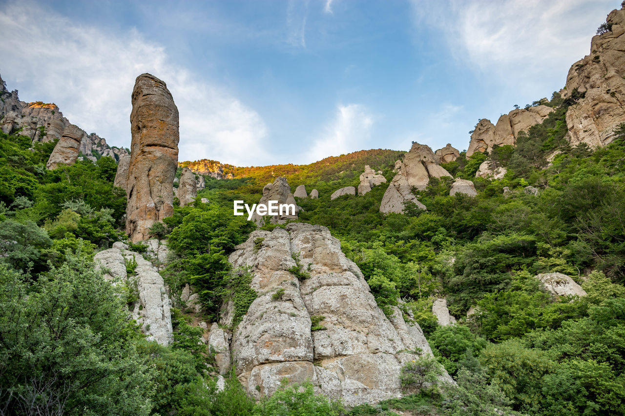 rock, rock formation, solid, rock - object, sky, nature, plant, cloud - sky, no people, mountain, beauty in nature, travel, tree, scenics - nature, day, tourism, tranquil scene, travel destinations, geology, physical geography, outdoors, formation, ancient civilization, eroded, abbey