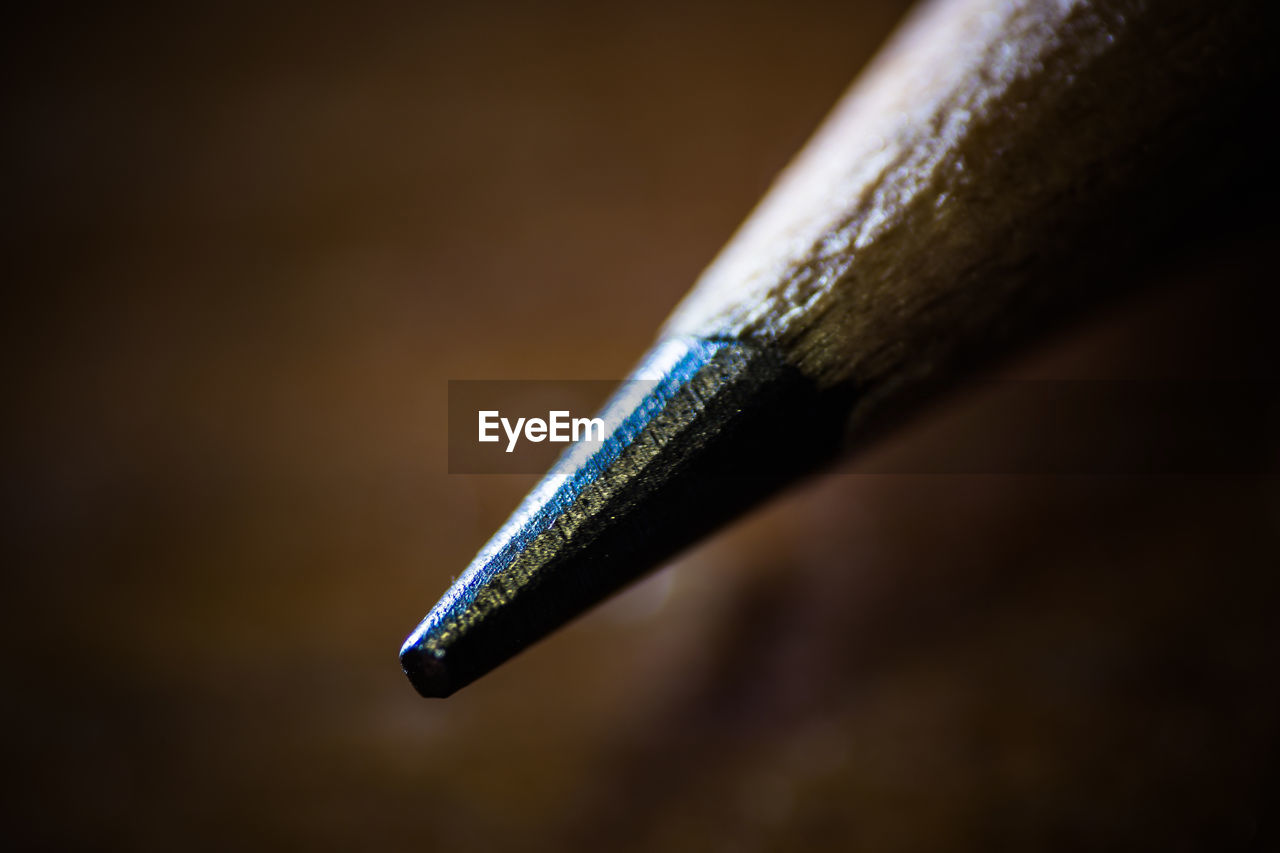 Close-Up Of Pencil Lead