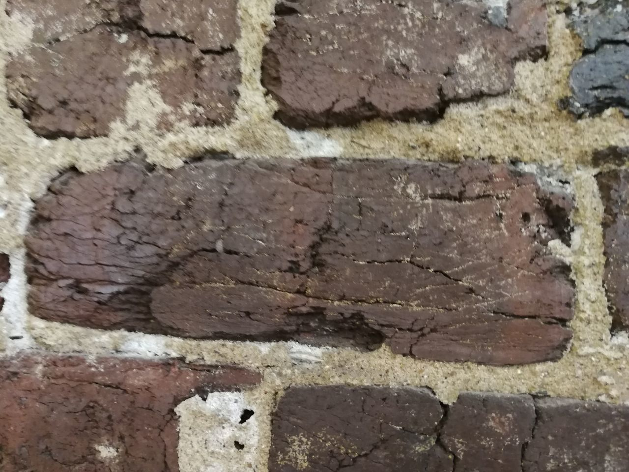 brick, wall - building feature, built structure, architecture, wall, brick wall, no people, close-up, textured, full frame, backgrounds, day, old, weathered, pattern, rough, outdoors, bad condition, run-down, building exterior, stone wall, cement, concrete