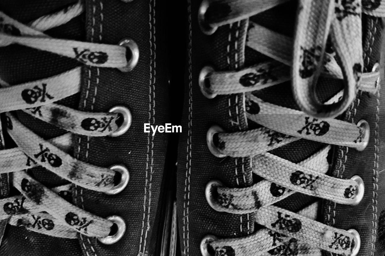 Full Frame Shot Of Shoes