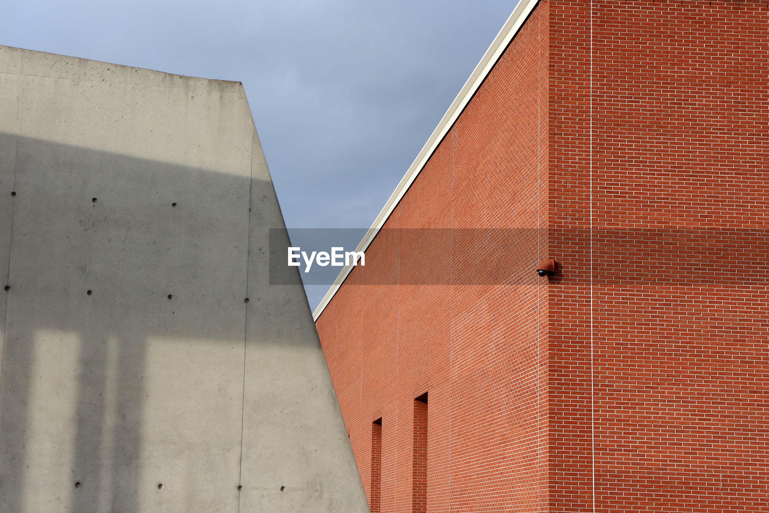 Exterior of buildings against sky