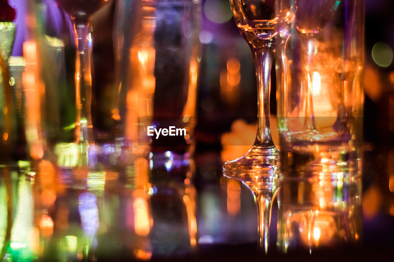 alcohol, refreshment, drink, food and drink, indoors, close-up, bar - drink establishment, drinking glass, no people, freshness, night, illuminated