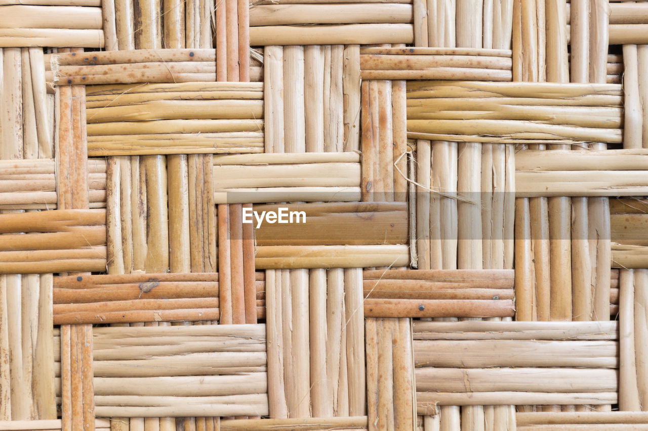 wood - material, large group of objects, no people, backgrounds, full frame, bamboo - material, indoors, close-up, pattern, wicker, food and drink, brown, stack, abundance, food, architecture, textured, art and craft, built structure, still life