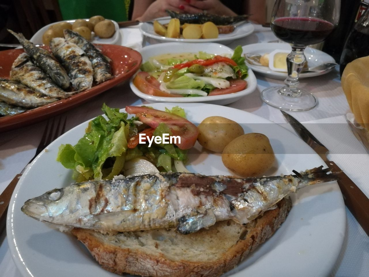 plate, food and drink, food, seafood, table, ready-to-eat, fish, freshness, meat, indoors, healthy eating, serving size, no people, meal, close-up, day