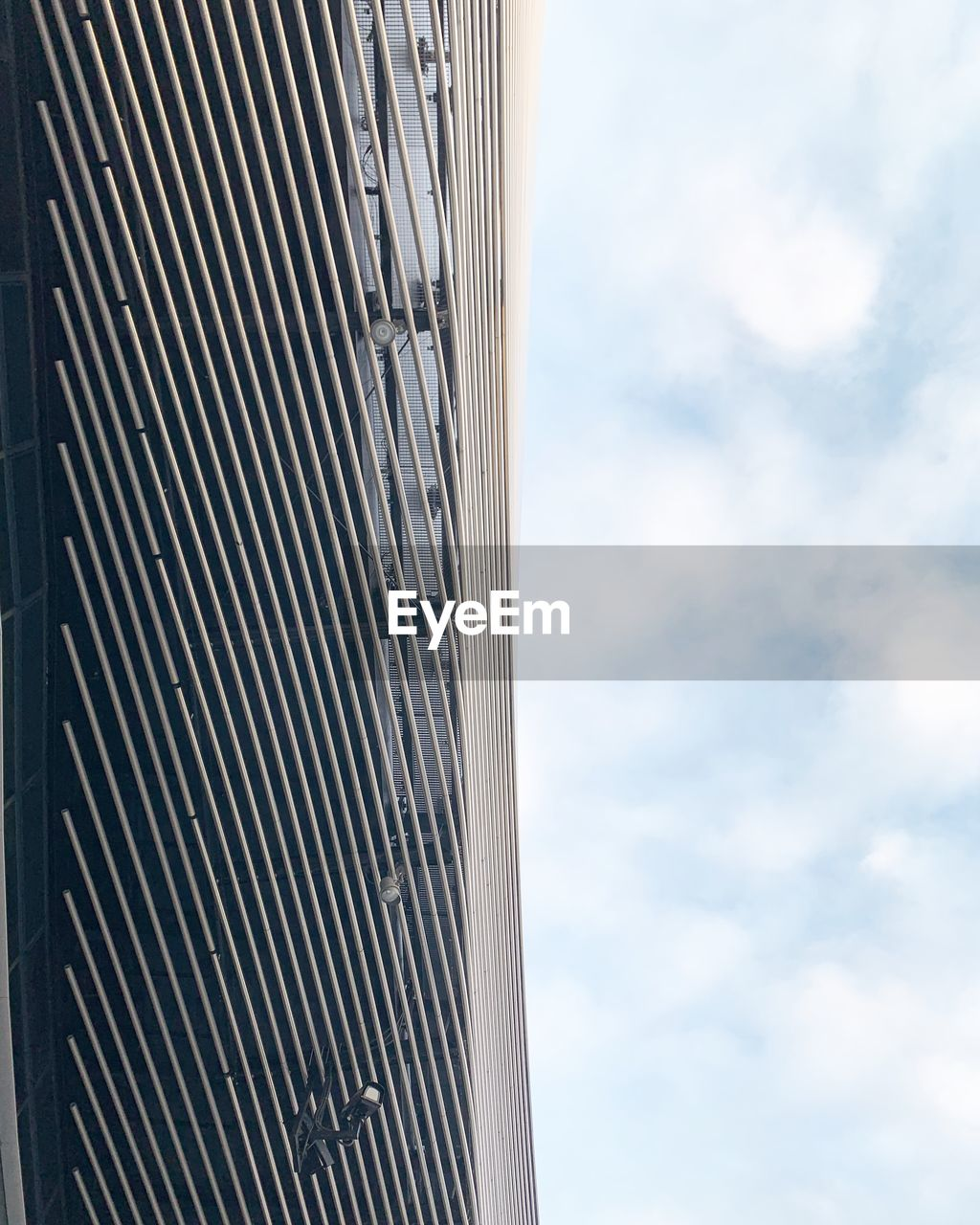 architecture, built structure, sky, building exterior, cloud - sky, building, city, no people, low angle view, day, nature, modern, office, outdoors, office building exterior, pattern, skyscraper, high, sunlight, tall - high, height, place