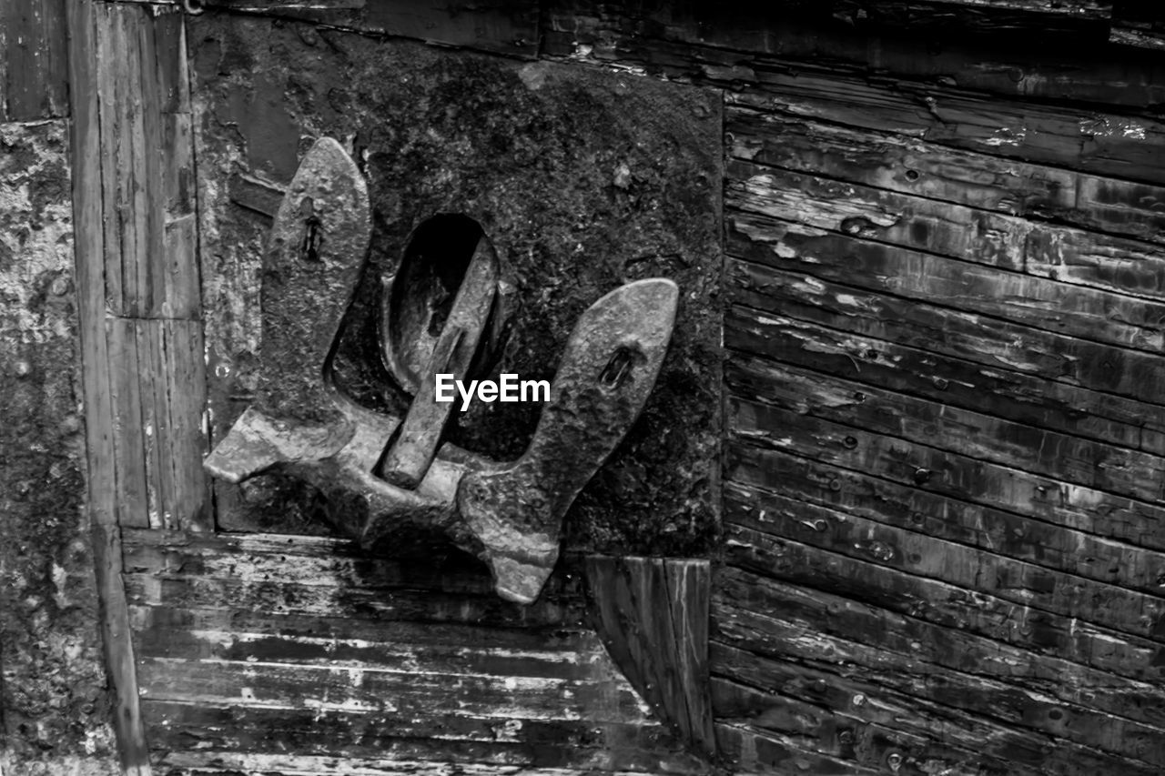 old, wood - material, architecture, no people, close-up, day, wall - building feature, wall, weathered, built structure, brick, metal, outdoors, entrance, abandoned, door, damaged, brick wall, building exterior, textured, ruined