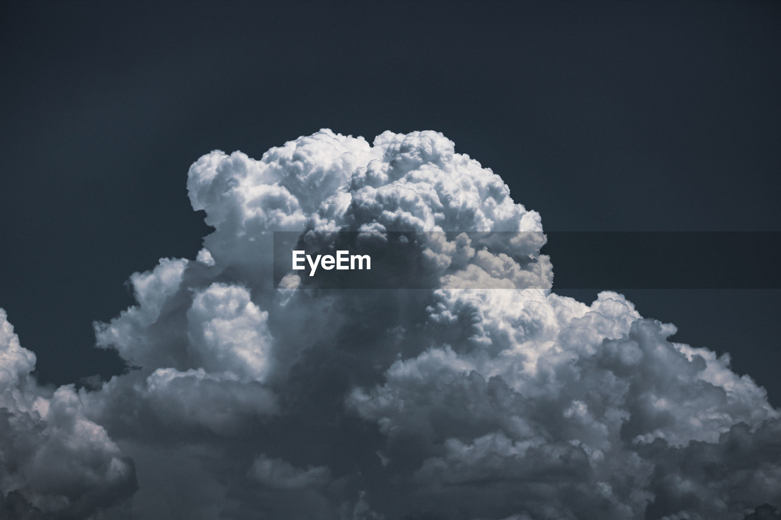 Low angle view of white clouds in sky