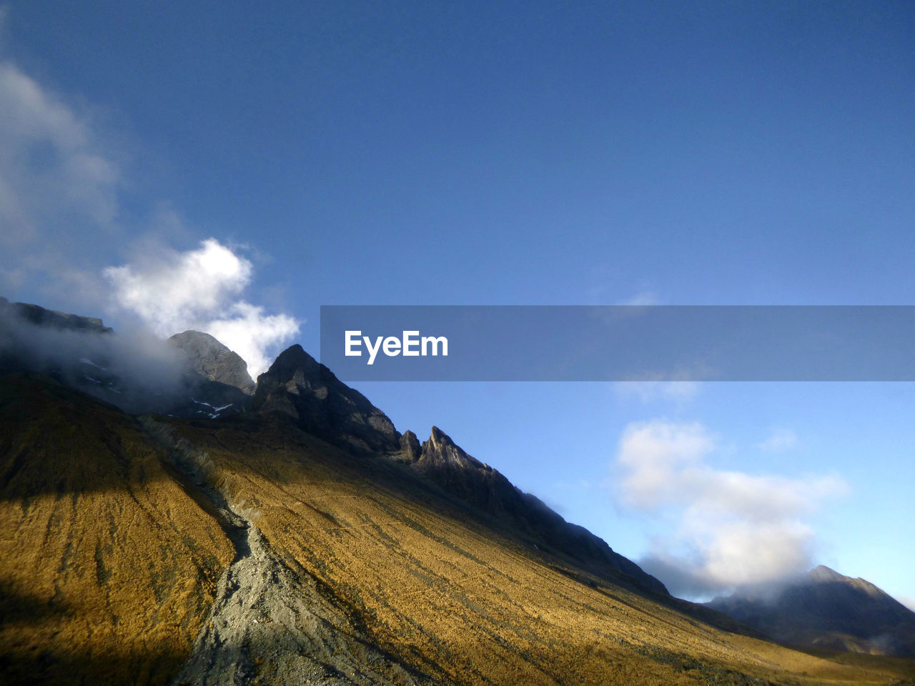 mountain, nature, landscape, beauty in nature, sky, scenics, outdoors, no people, day, scenery, range