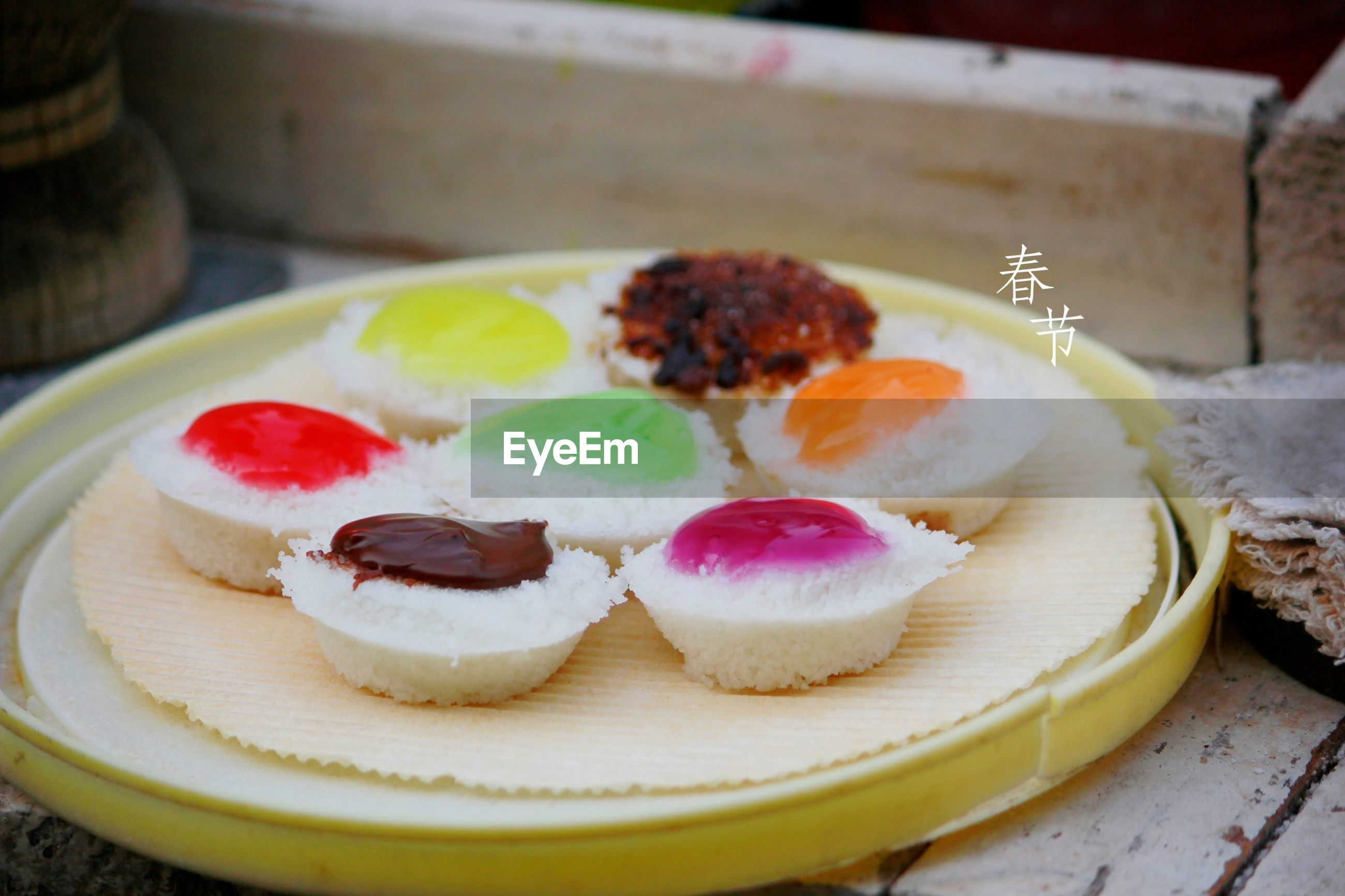 food and drink, sweet food, food, freshness, dessert, indoors, ready-to-eat, indulgence, unhealthy eating, still life, temptation, cake, close-up, table, baked, cupcake, plate, high angle view, variation, serving size
