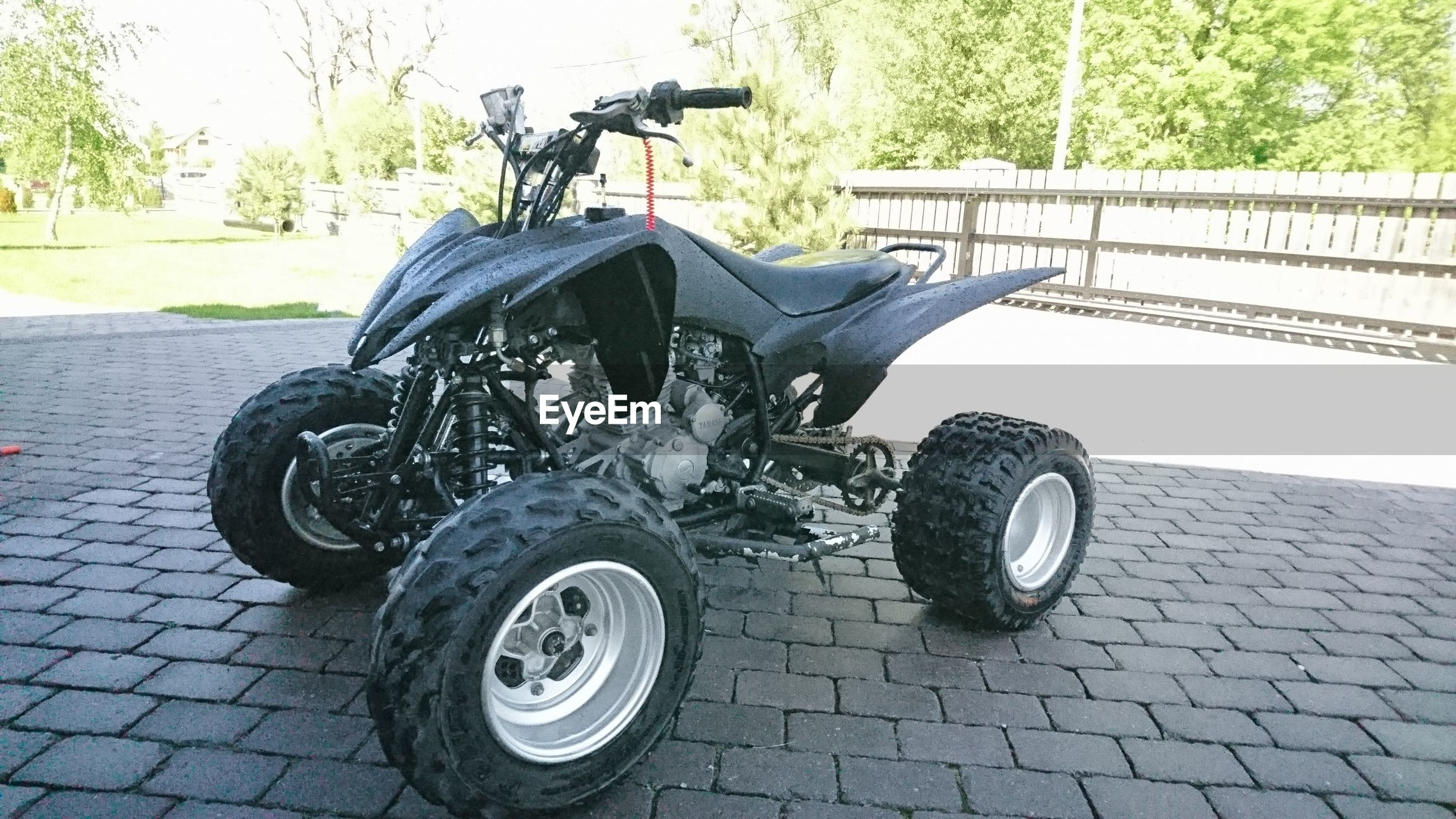 transportation, land vehicle, day, outdoors, no people, motorcycle