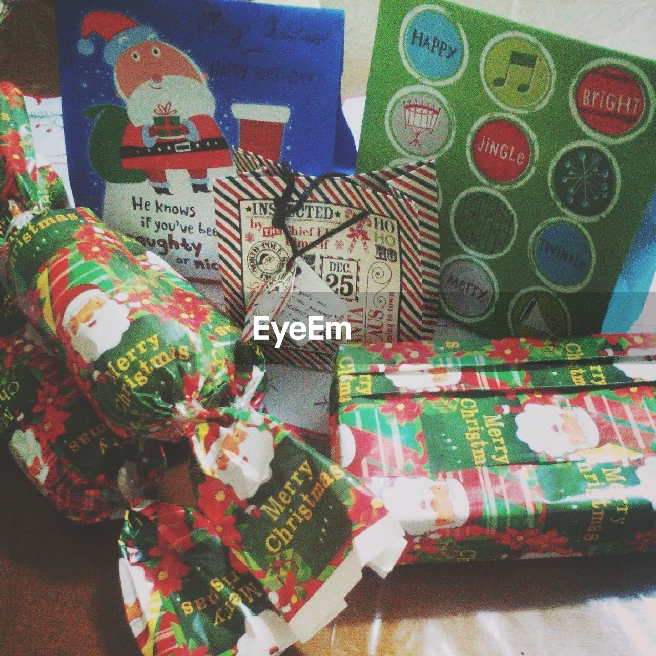 text, large group of objects, indoors, communication, no people, variation, gift, multi colored, close-up, day