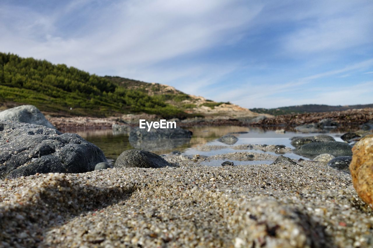 nature, sky, beach, beauty in nature, outdoors, tranquility, water, no people, day, scenics, pebble beach