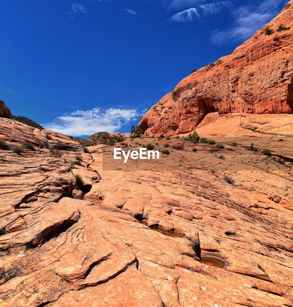rock, rock - object, rock formation, sky, scenics - nature, solid, non-urban scene, tranquil scene, beauty in nature, tranquility, physical geography, geology, nature, no people, day, blue, travel destinations, landscape, sunlight, remote, arid climate, climate, eroded, outdoors, formation, sandstone