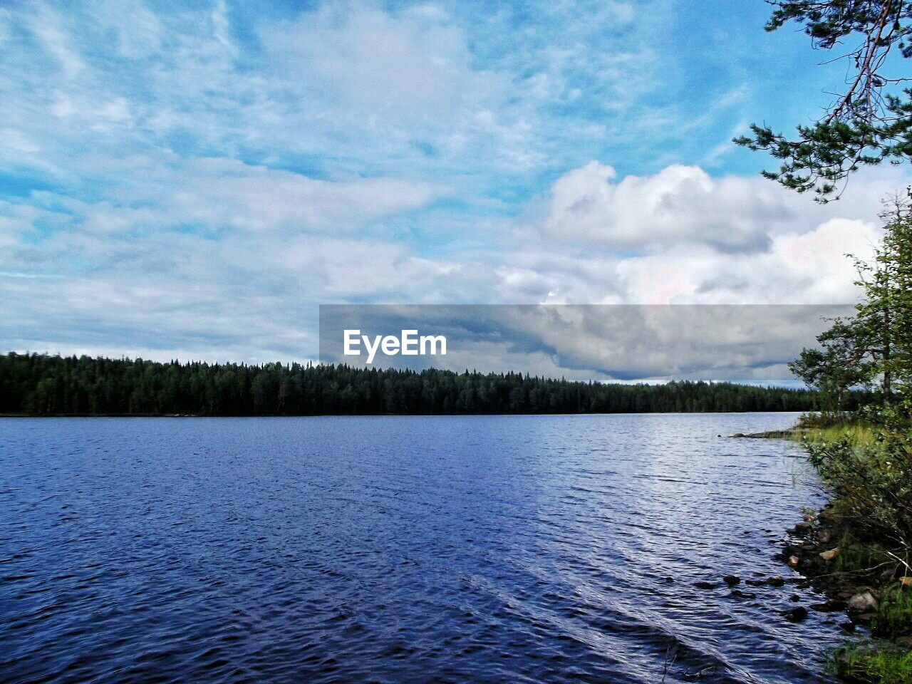 sky, tree, nature, lake, water, no people, beauty in nature, forest, outdoors, scenery, day