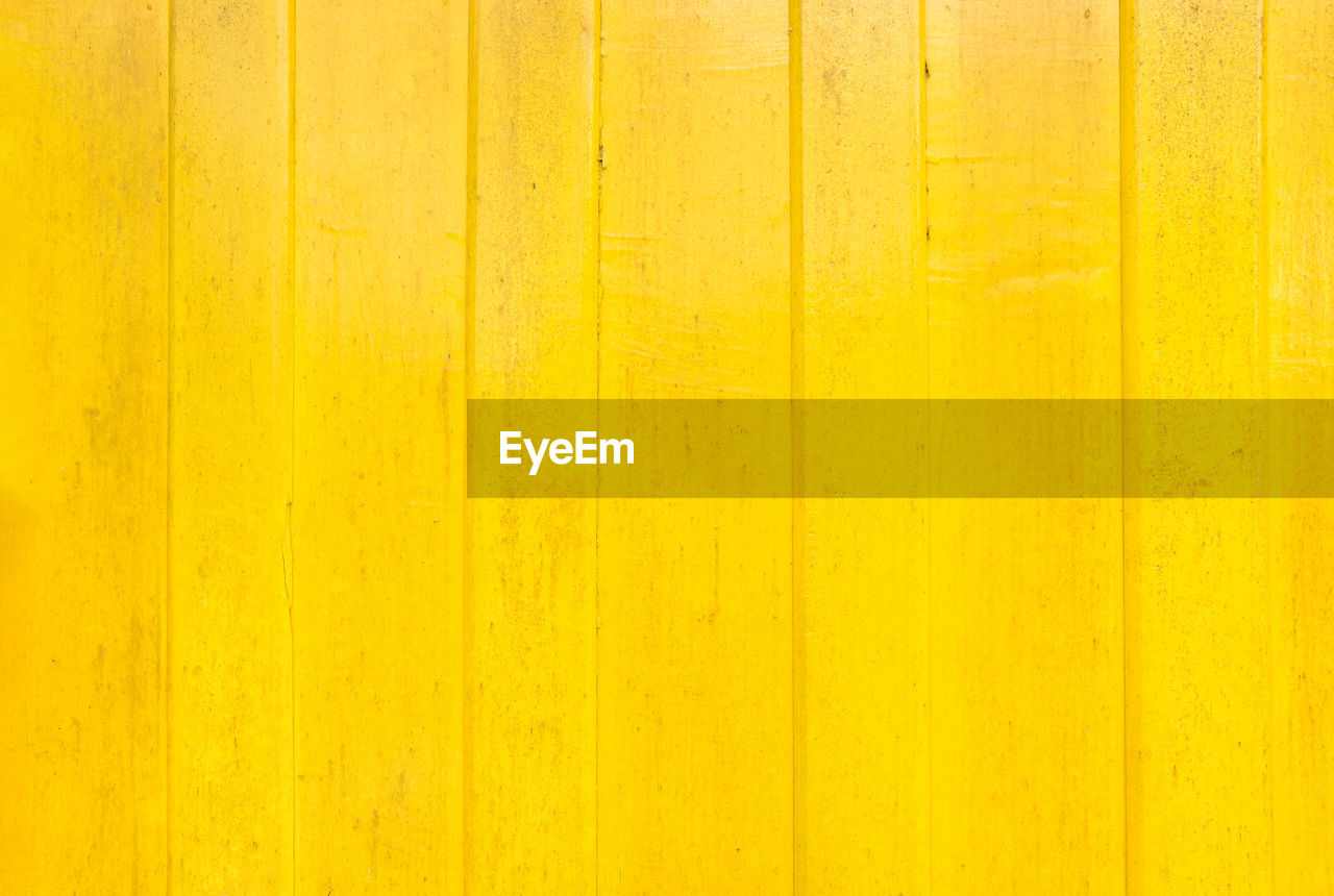 yellow, backgrounds, wood - material, full frame, textured, pattern, architecture, no people, built structure, wall - building feature, close-up, indoors, vibrant color, striped, wood, material, plank, copy space, abstract, wood grain