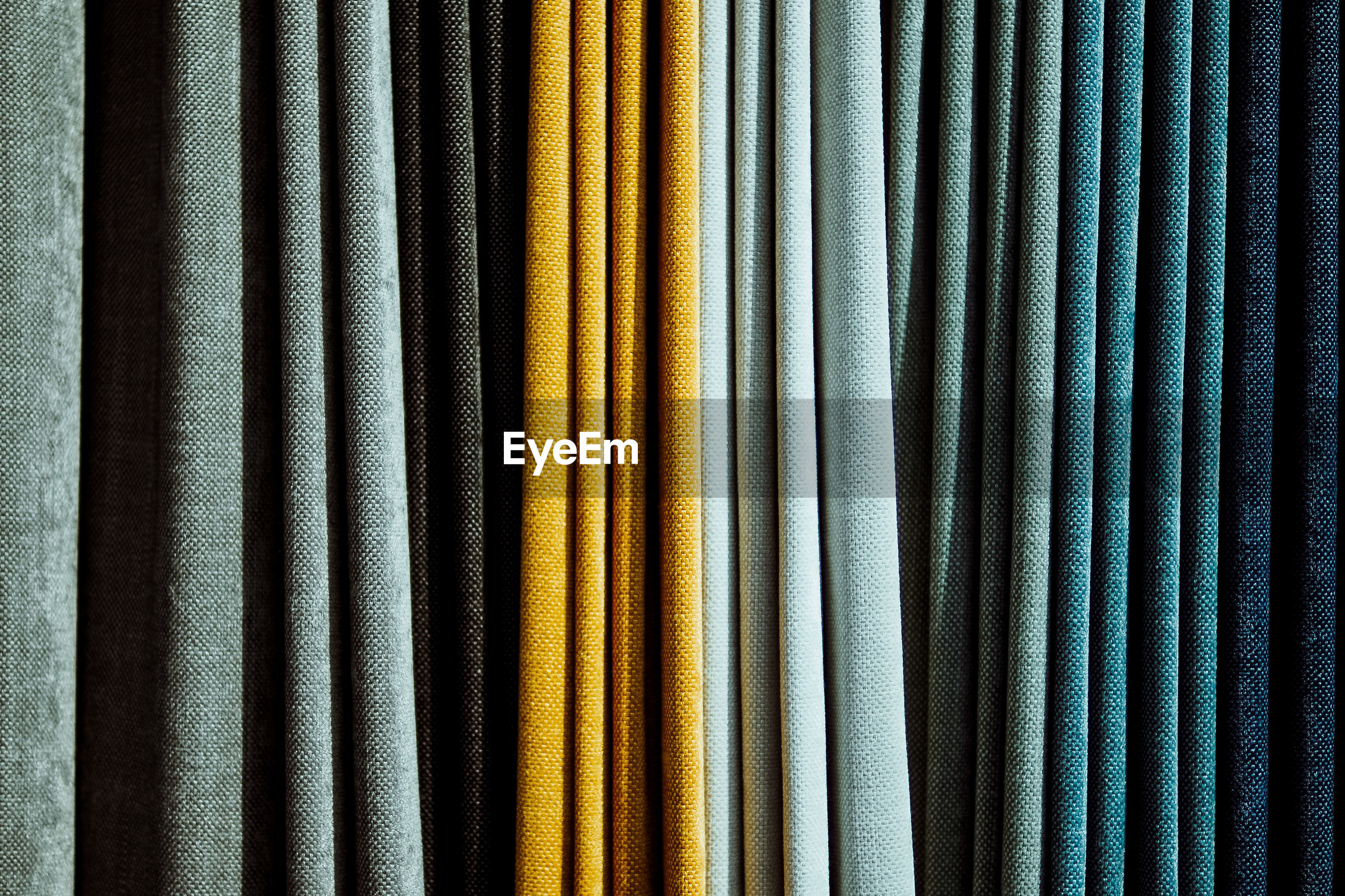 Full frame shot of fabric for sale at market
