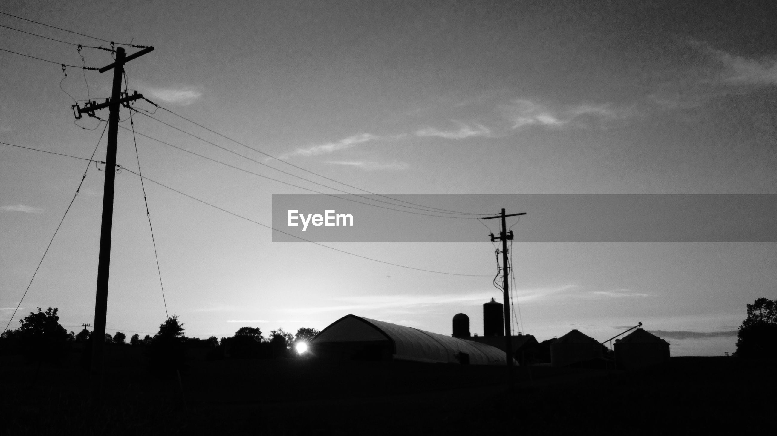 cable, connection, electricity, power line, electricity pylon, power supply, sky, silhouette, no people, technology, fuel and power generation, outdoors, low angle view, day, nature