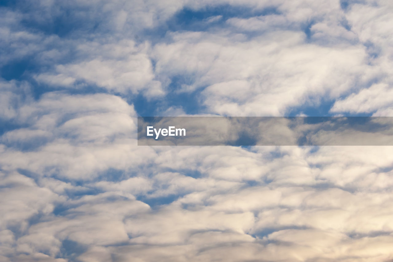 cloud - sky, nature, beauty in nature, low angle view, sky, backgrounds, scenics, tranquility, full frame, no people, softness, sky only, day, outdoors