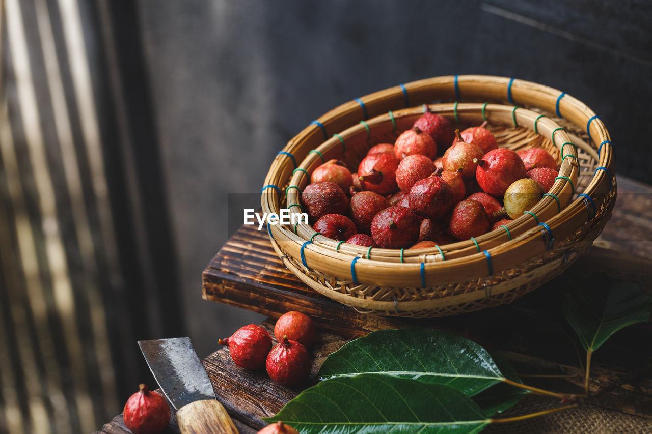 Vietnamese Figs In Basket