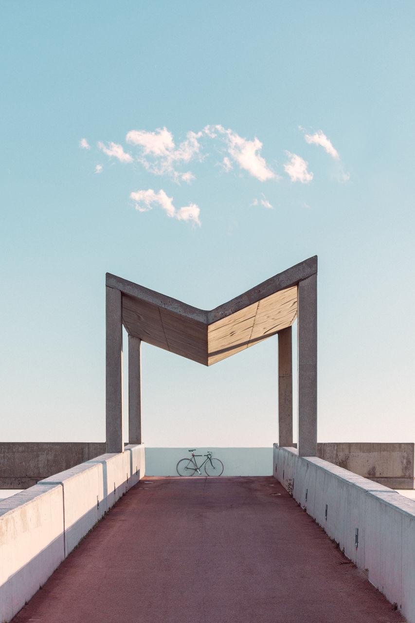 Bike Under Built Structure