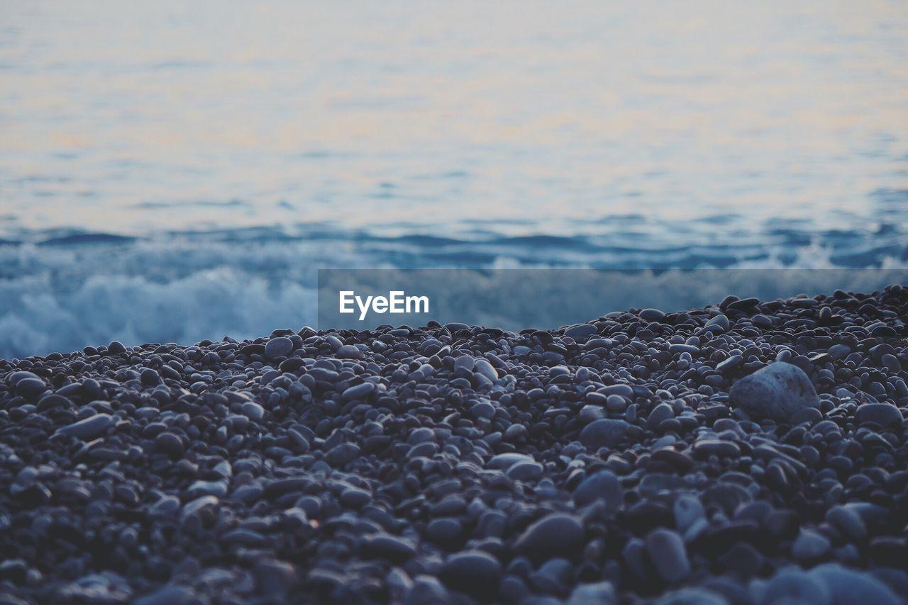 Stones At Beach