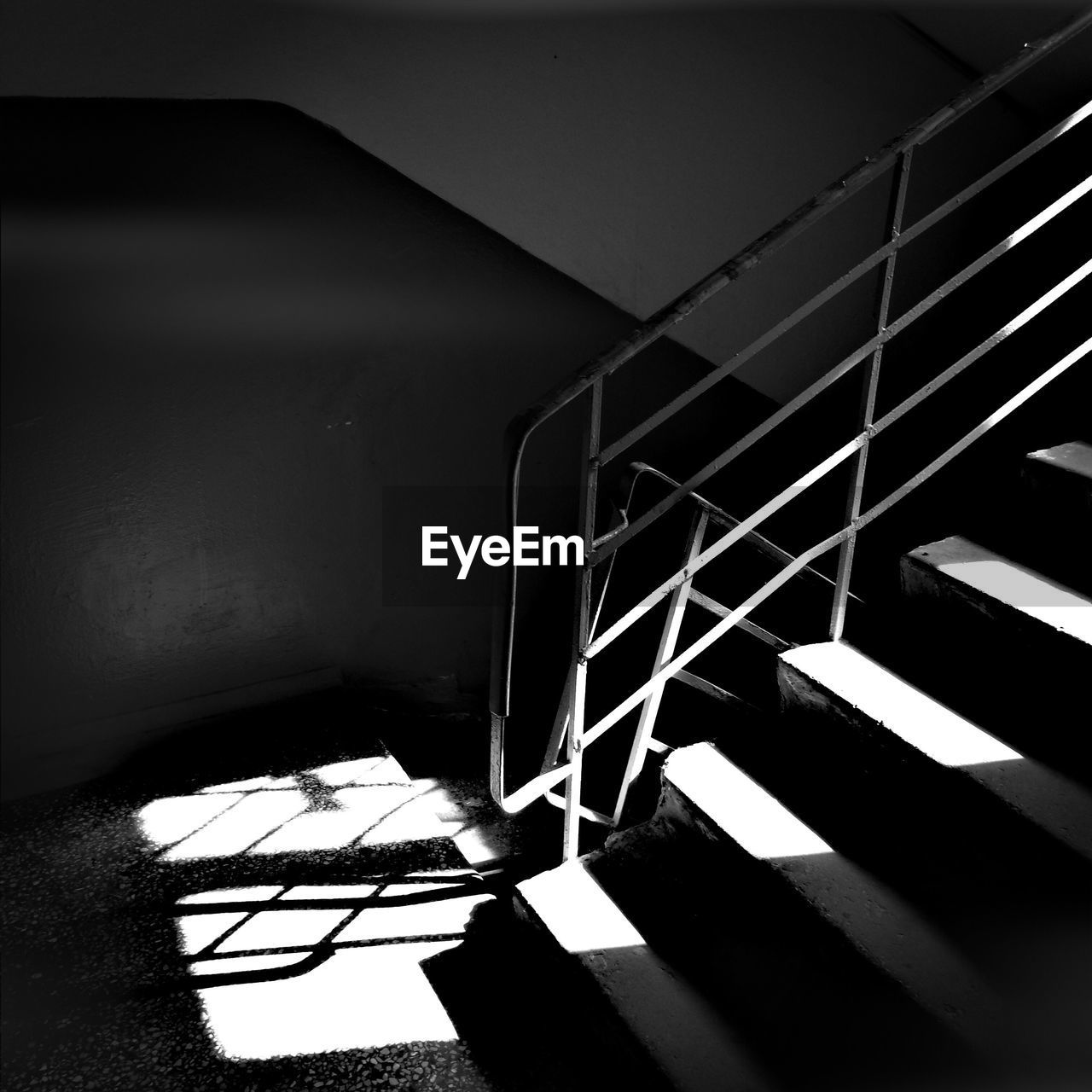 sunlight, staircase, architecture, shadow, no people, steps, built structure, steps and staircases, day, indoors