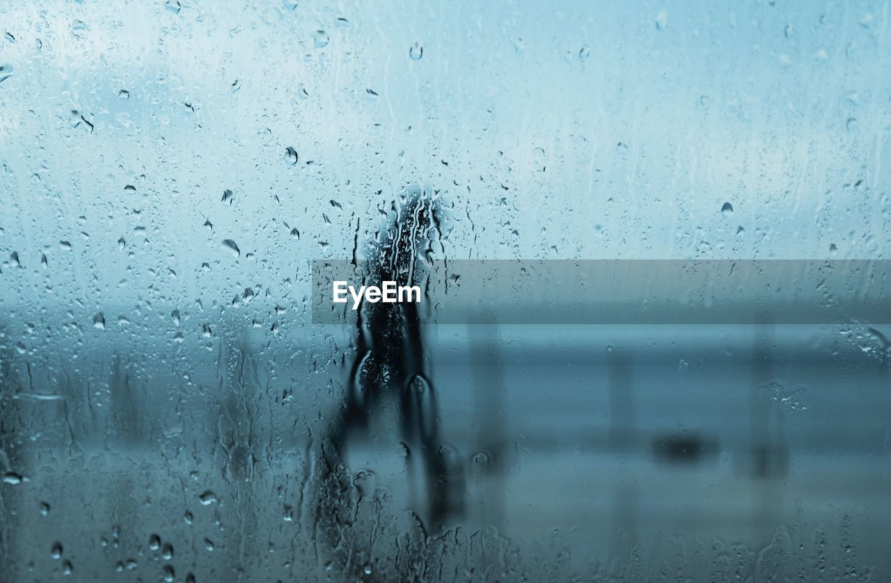 water, wet, glass - material, drop, rain, nature, transparent, window, indoors, no people, day, close-up, full frame, sea, condensation, sky, backgrounds, rainy season, raindrop