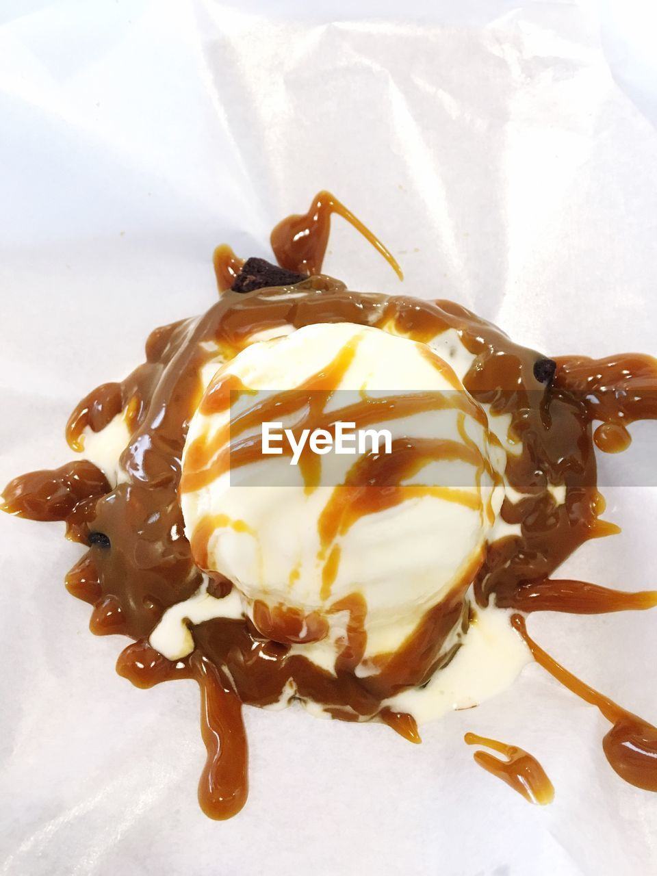 sweet food, food and drink, chocolate, indulgence, dessert, chocolate sauce, food, no people, ice cream, temptation, unhealthy eating, close-up, frozen food, indoors, freshness, ice cream sundae, molten, ready-to-eat, day