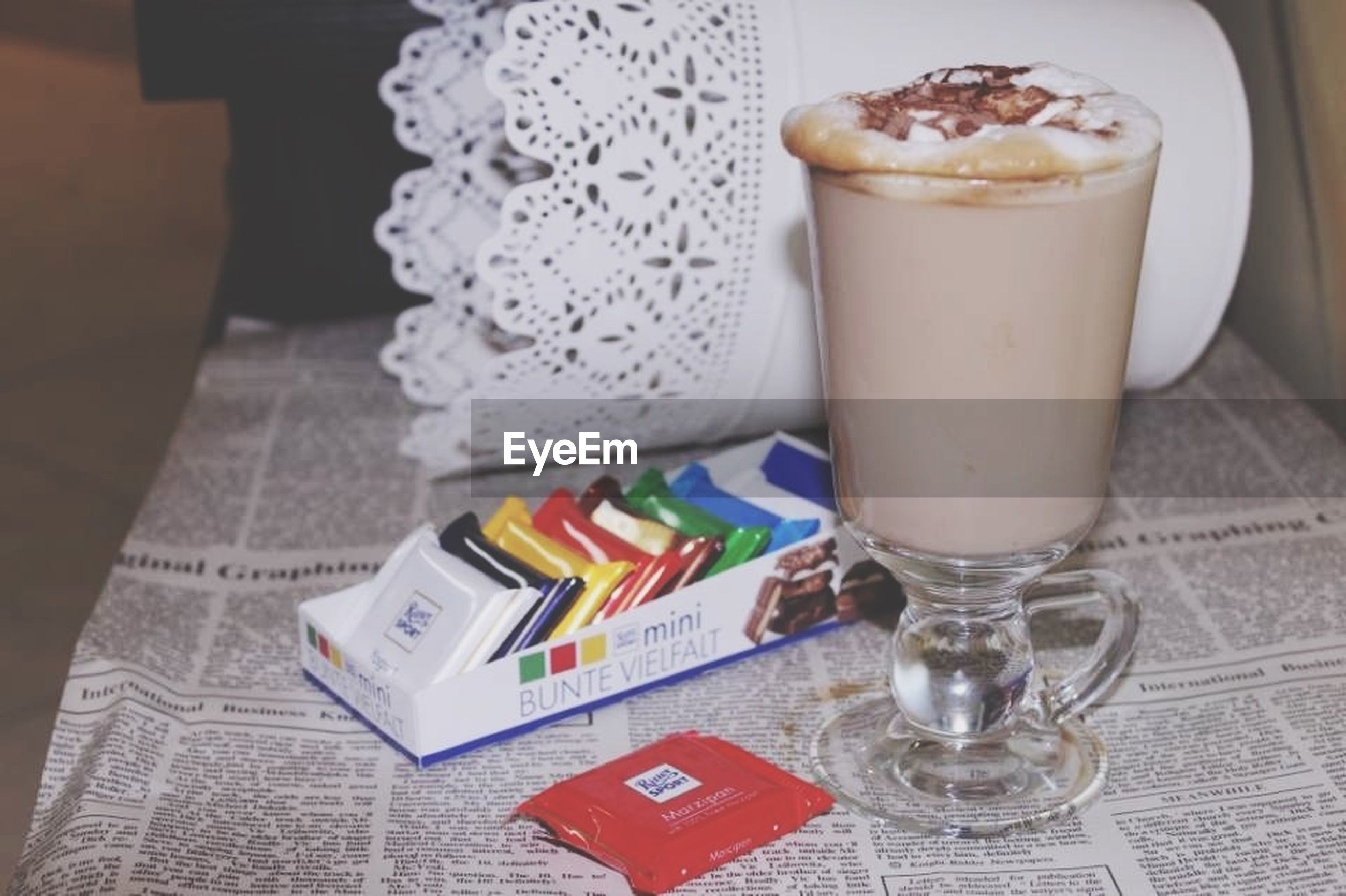 indoors, food and drink, table, still life, sweet food, drink, freshness, refreshment, coffee cup, food, dessert, close-up, high angle view, coffee - drink, plate, unhealthy eating, ready-to-eat, indulgence, cake, white color