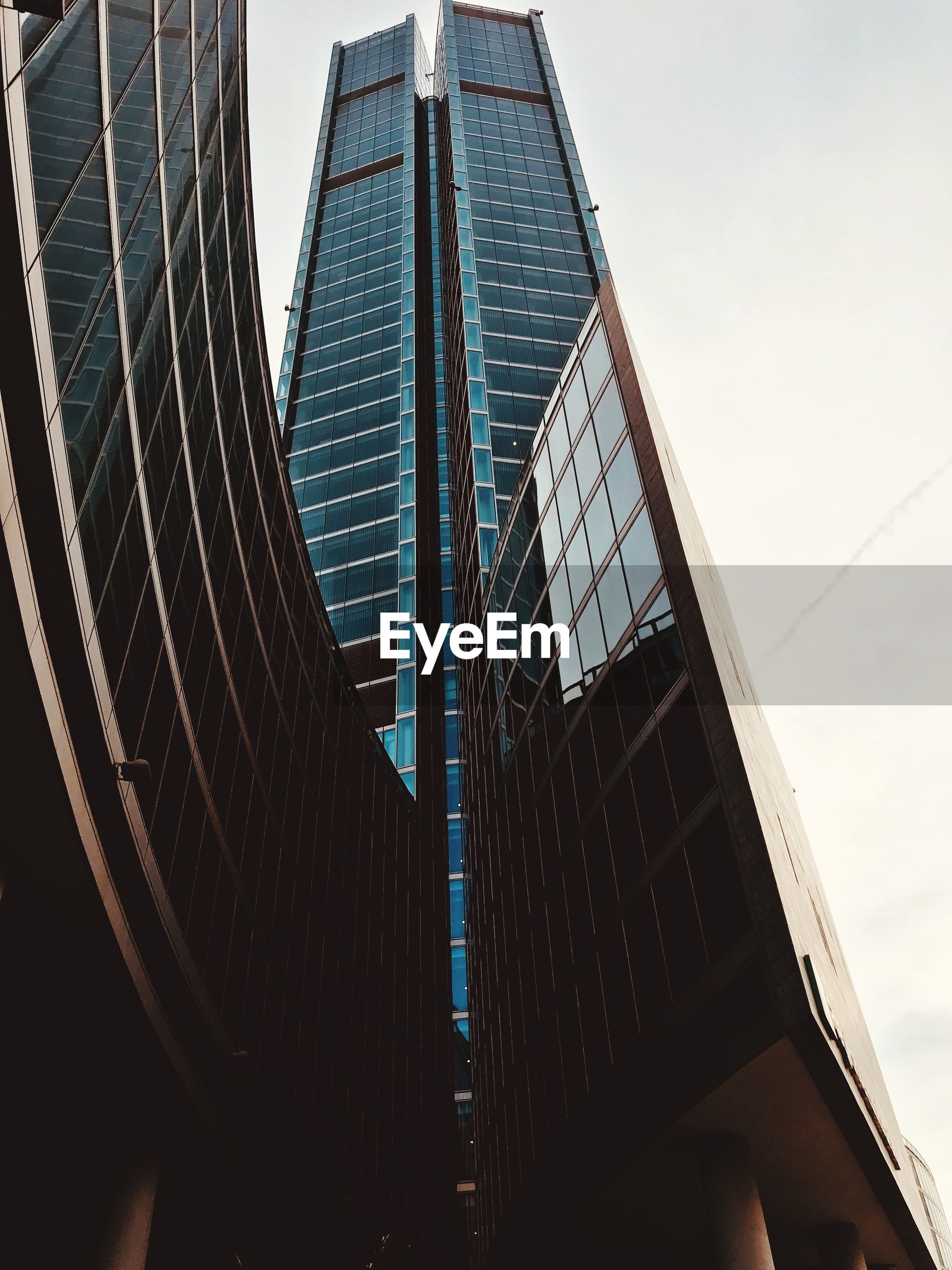 built structure, architecture, building exterior, city, building, office building exterior, low angle view, modern, sky, office, skyscraper, tall - high, no people, glass - material, nature, reflection, day, tower, outdoors, travel destinations, financial district