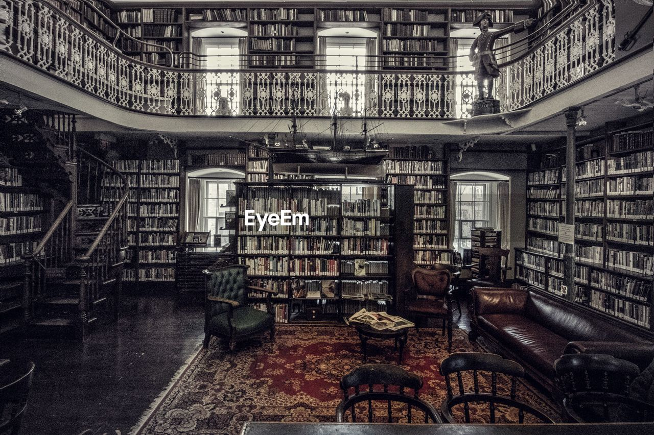 bookshelf, book, indoors, library, shelf, history, architecture, no people, built structure, chair, factory, education, science, research, wisdom, industry, day