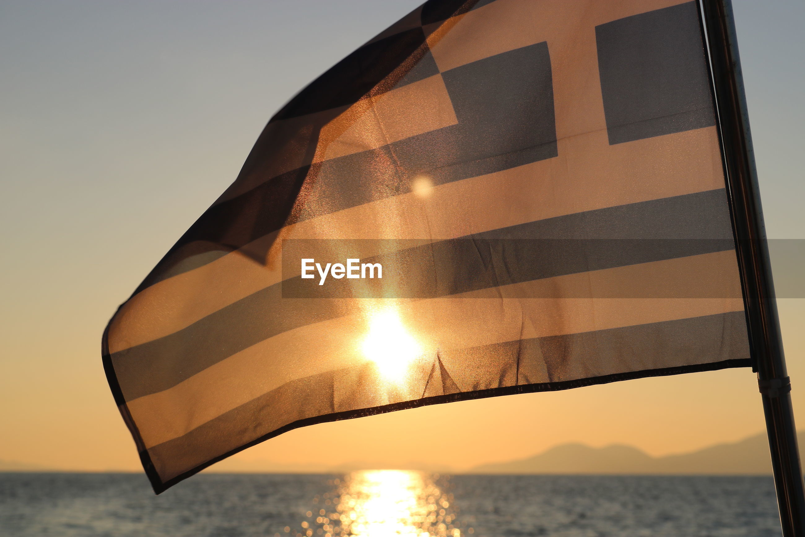 Flag of greece outdoors