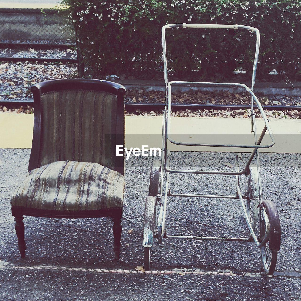 VIEW OF EMPTY SEATS