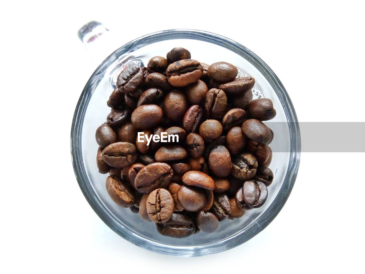 food and drink, white background, large group of objects, no people, coffee - drink, high angle view, directly above, food, freshness, nut - food, close-up, coffee bean, indoors, day
