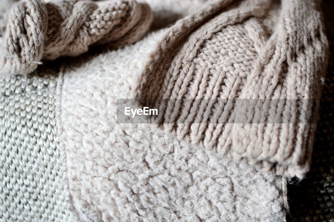 wool, close-up, textile, no people, textured, winter, warm clothing, indoors, fiber, day
