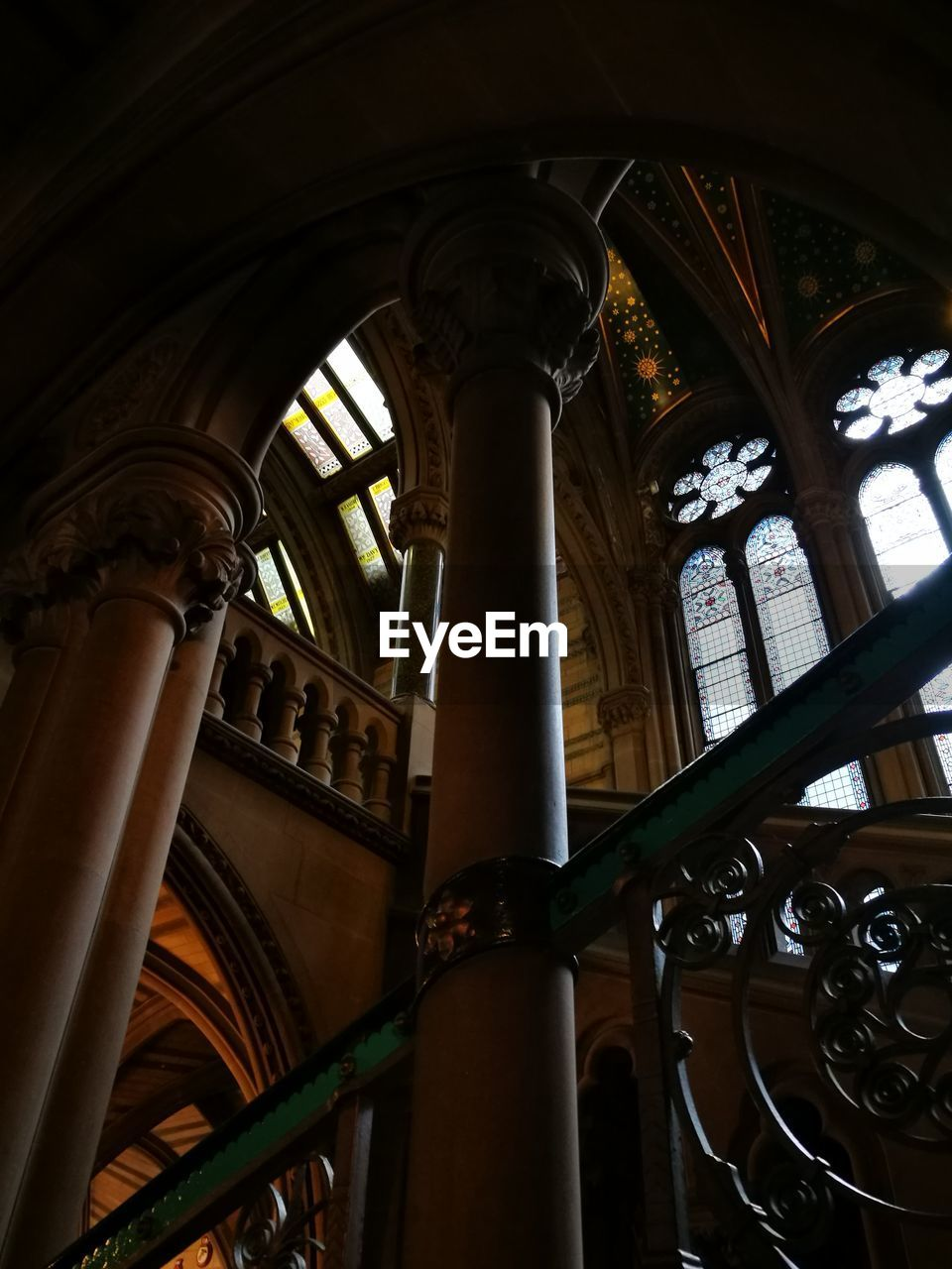 Low Angle View Of Manchester Town Hall