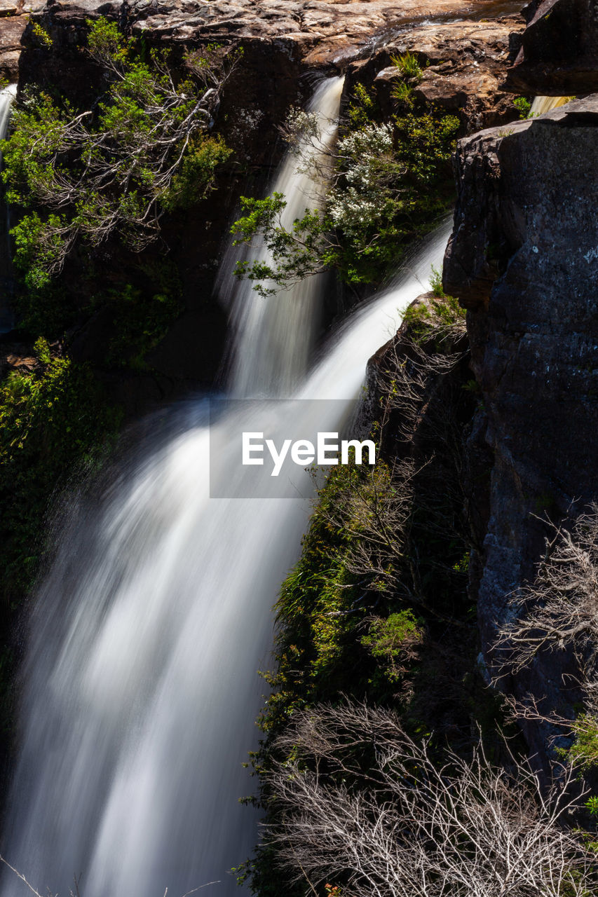 waterfall, motion, scenics - nature, blurred motion, water, tree, forest, long exposure, plant, beauty in nature, nature, flowing water, land, rock, rock - object, no people, environment, power, day, outdoors, power in nature, flowing, rainforest, falling water