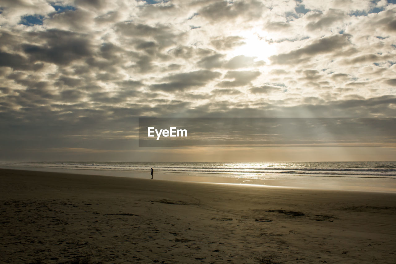sea, beach, sand, water, shore, nature, beauty in nature, horizon over water, scenics, sky, sunset, cloud - sky, tranquility, tranquil scene, outdoors, no people, wave, day