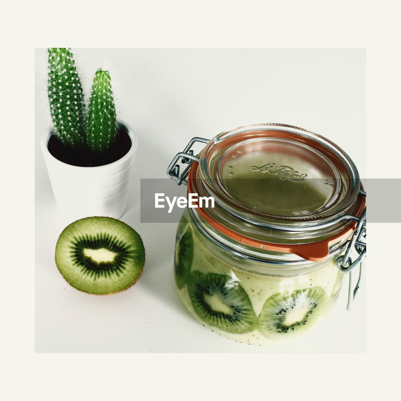jar, food and drink, healthy eating, no people, freshness, indoors, food, white background, close-up, mint tea, day