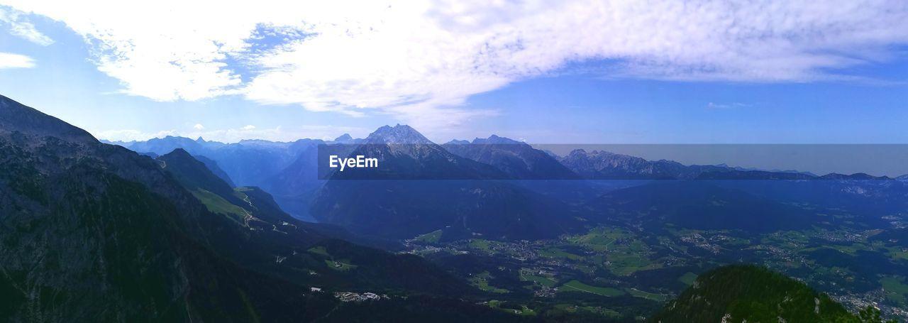 mountain, sky, nature, beauty in nature, landscape, mountain range, scenics, no people, snow, outdoors, day, peak, range