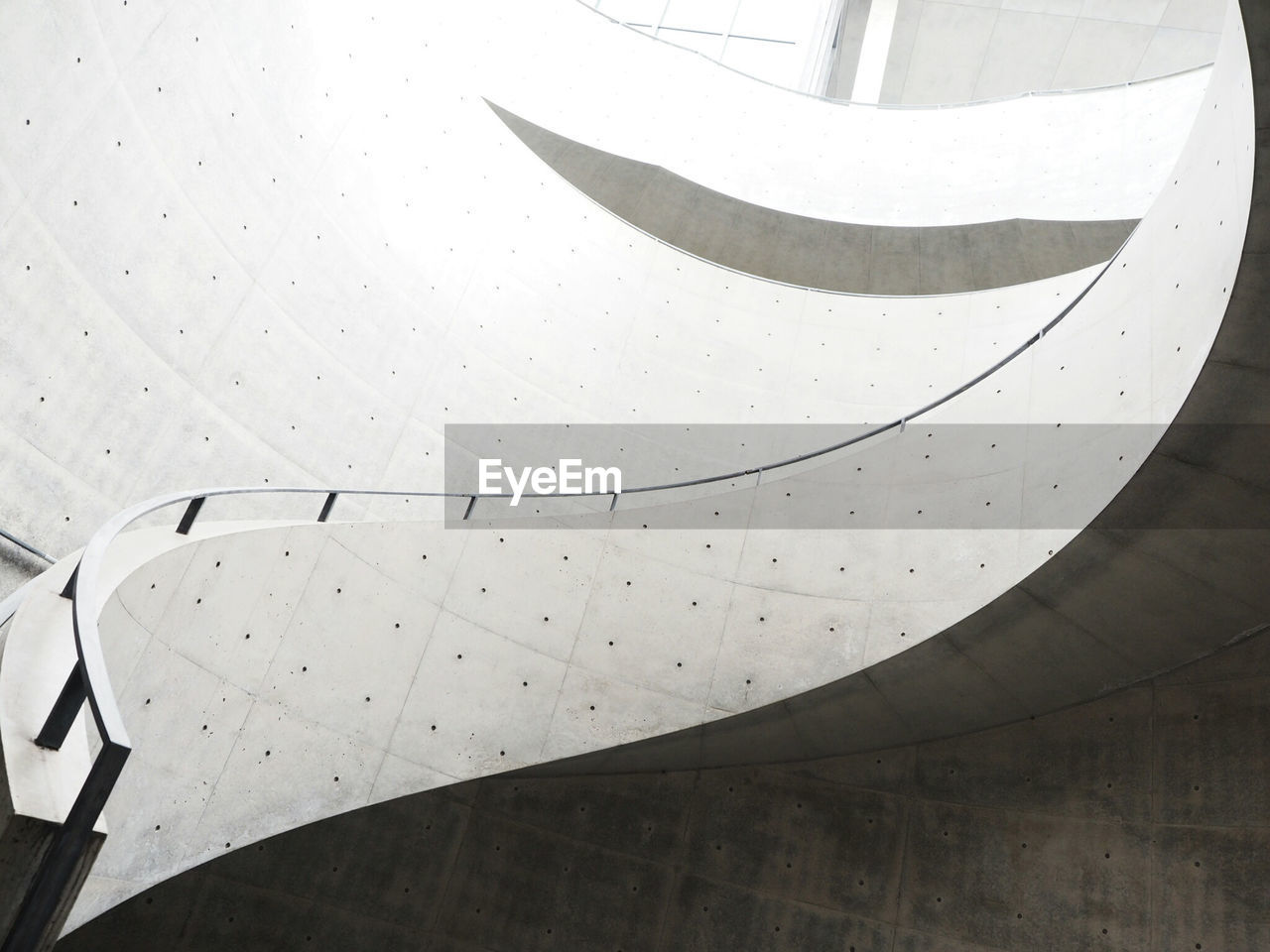 Low Angle View Of Staircase At Museum