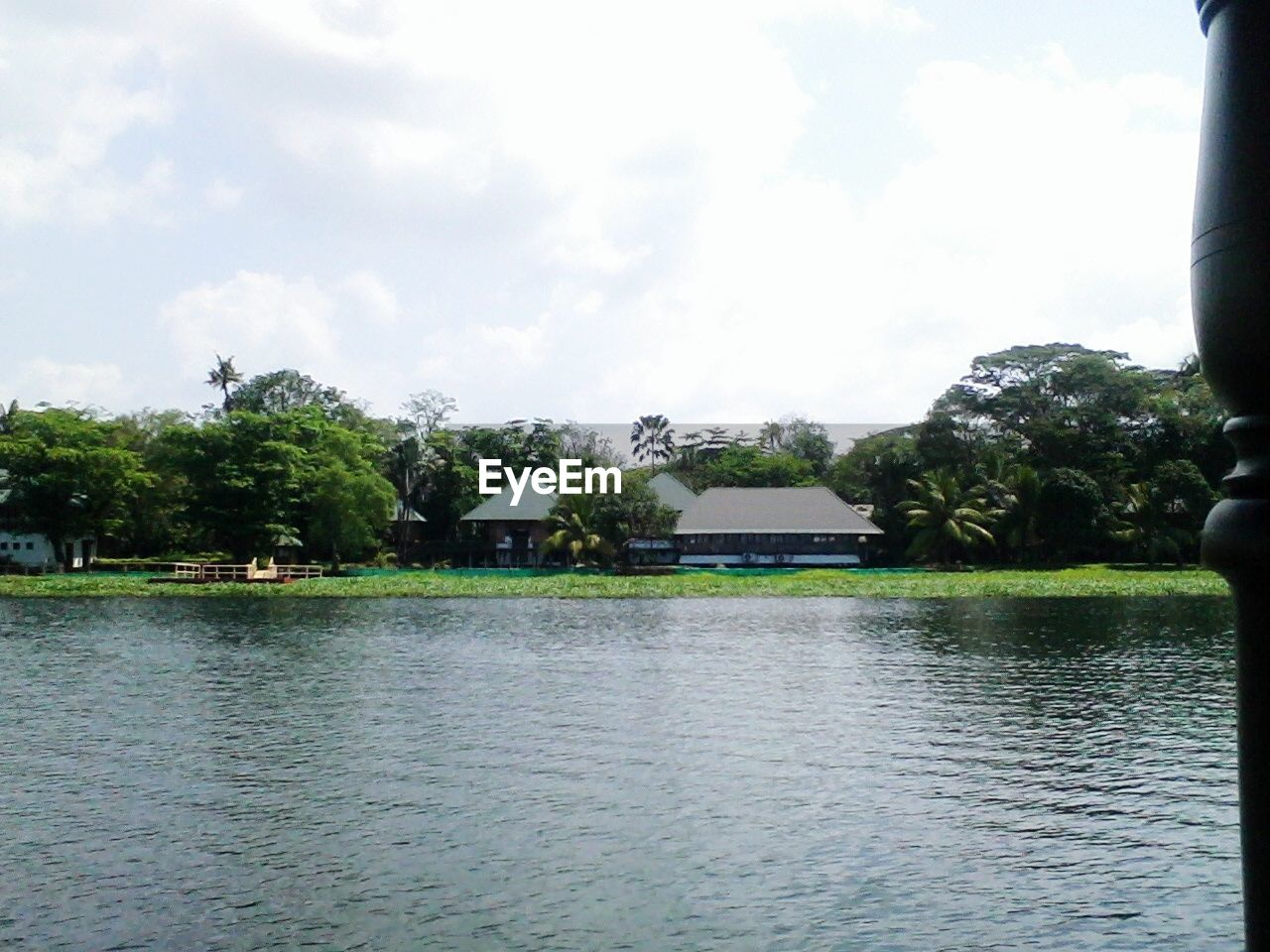 water, tree, sky, nature, day, tranquil scene, outdoors, waterfront, lake, built structure, architecture, no people, growth, scenics, tranquility, beauty in nature, building exterior