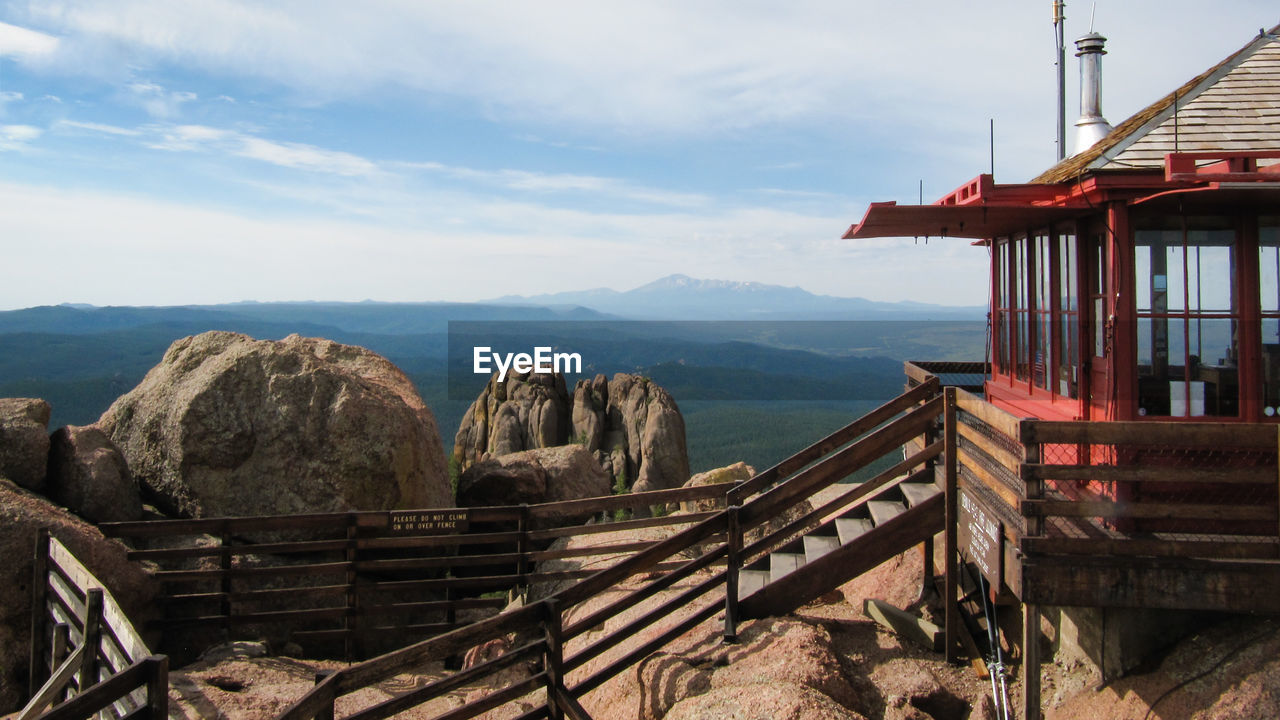 Devil Head Lookout Tower At Pikes Peak National Forest